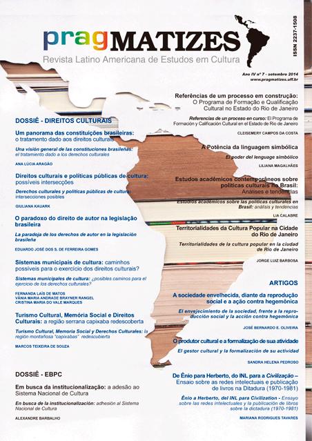 Visualizar Ano 4, n. 7 (set. 2014)