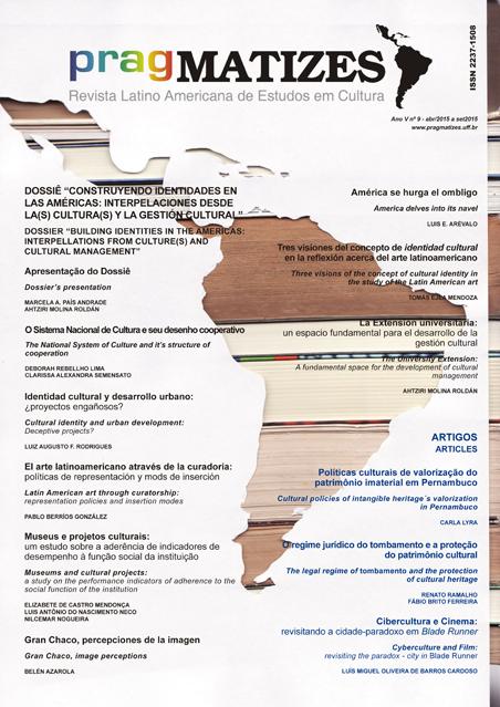 Visualizar Ano 5, n. 9 (set. 2015)