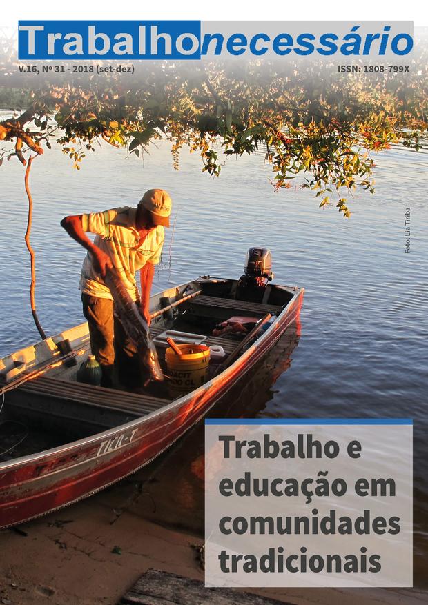 Visualizar v. 16 n. 31 (2018): Trabalho e educação em comunidades tradicionais