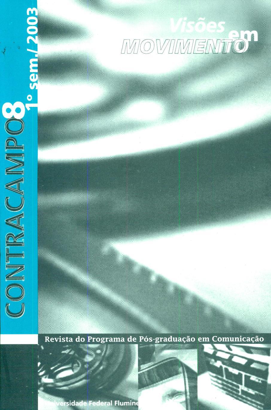 Visualizar n. 08 (2003): Visões em movimento