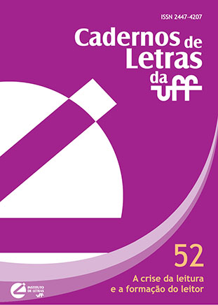 Capa Cadernos de Letras nº 52