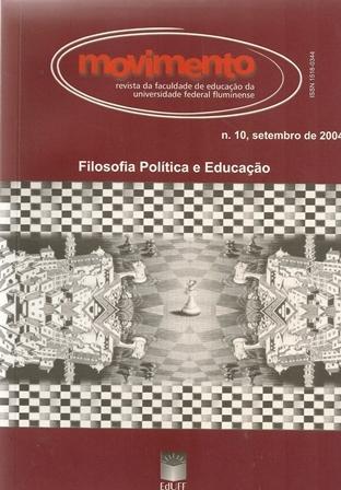Visualizar n. 10 (2004): Filosofia Política e Educação
