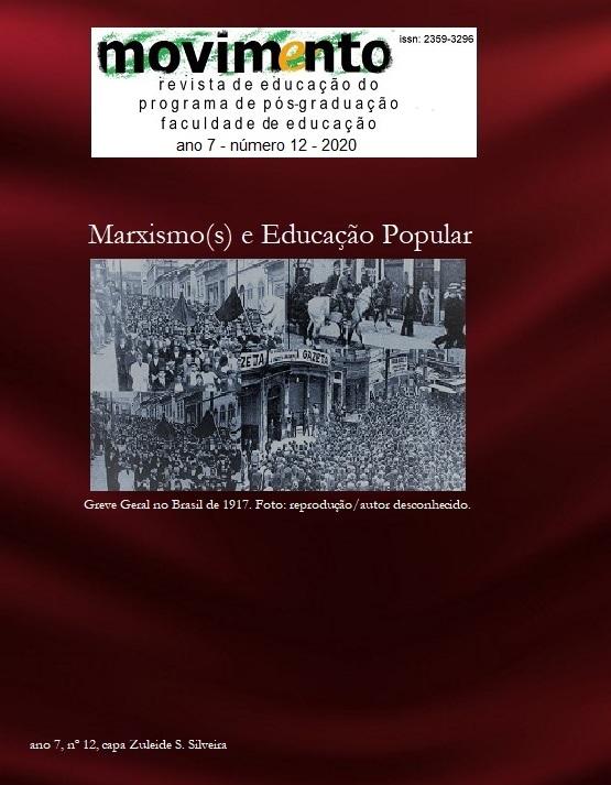 Visualizar v. 7 n. 12 (2020): Marxismo(s) e Educação Popular